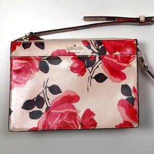 Kate Spade Pink Floral Crossbody Bag